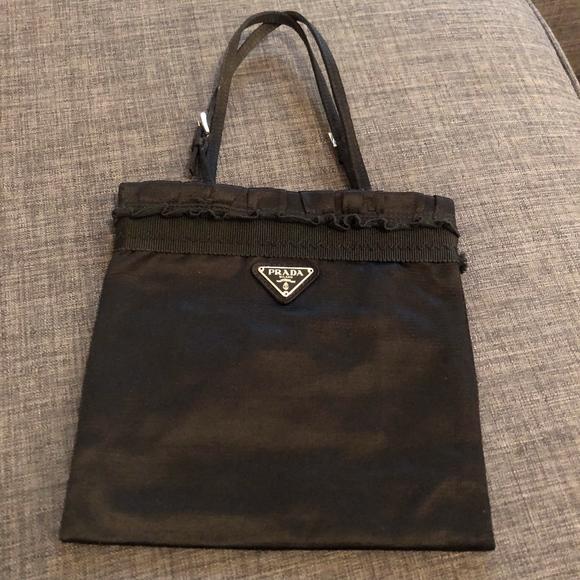 Prada Bags   Elegant Satin Evening Bag Wauthentication   Poshmark 4503fc3f74
